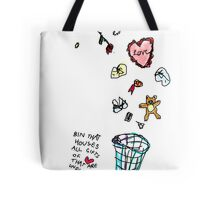 Unreciprocated Love Bin Tote Bag
