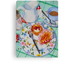 Cupcake Temptations Canvas Print