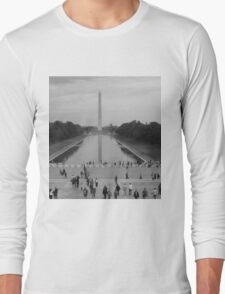 Washington Monument Long Sleeve T-Shirt