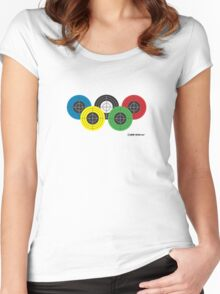 Five targets Women's Fitted Scoop T-Shirt