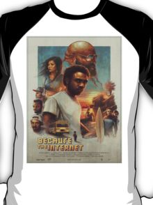 Donald Glover/Childish Gambino - Because The Internet T-Shirt