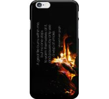 Van Gogh Fire iPhone Case/Skin