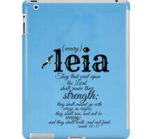 Leia iPad Case/Skin