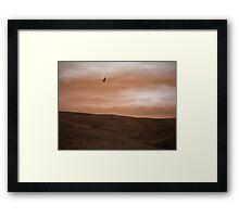 Rolling Prairie Framed Print