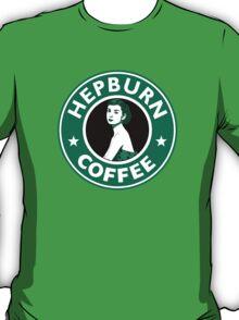 Audrey Hepburn Starbucks  T-Shirt