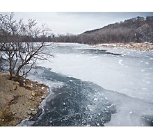 Frozen Solid Photographic Print