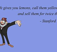 Stanford Pines - When life gives you lemons by dobiegerl
