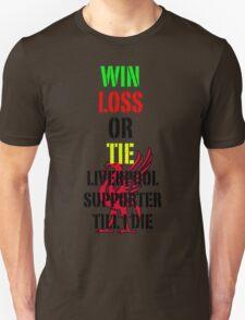Liverpool, walk on Unisex T-Shirt