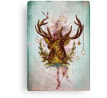 Oh deer, is that the time? Canvas Print