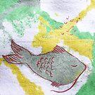 fish sleep by Soxy Fleming