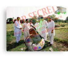 Pakistani Top Secret UFO Material Canvas Print