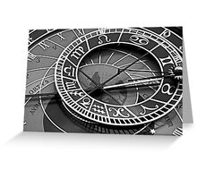Space in Time Greeting Card