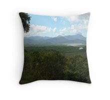 the Hinchinbrook Channel Throw Pillow