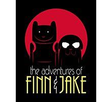 The Adventures of Finn and Jake shirt phone ipad case mug poster Photographic Print