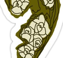 'Khaki Rose' Sticker