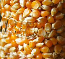 Corn in jar by Nancy Lyall
