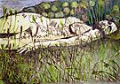 "Girl in the Grass 5 by Belinda ""BillyLee"" NYE (Printmaker)"