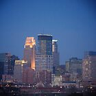 Minneapolis Skyline by Amy Dokken