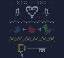 Kingdom Hearts Xmas by vectorus