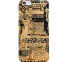 The Great Hippy Convention Poster Add (Continuous Smile.) iPhone Case/Skin