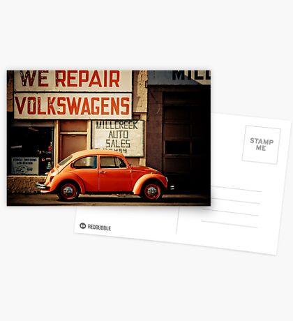 We Repair Volkswagens Postcards