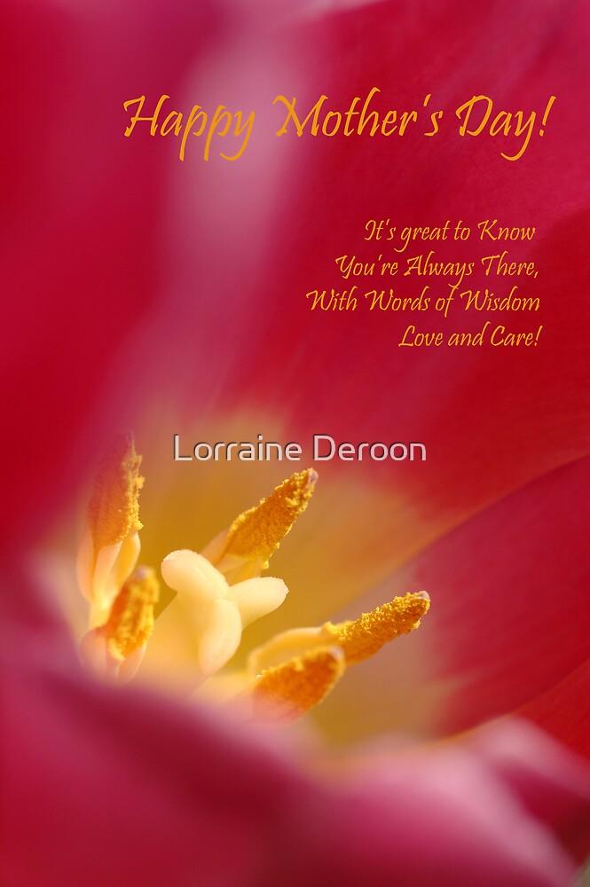 For Mum by Lorraine Deroon