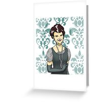 Sweet Cora Greeting Card