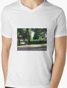Primrose Hill, London Mens V-Neck T-Shirt