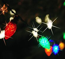 Christmas lights by Nancy Lyall