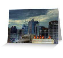 Gotham City - Rooftop View CBD of Sydney, Australia Greeting Card