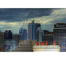 Gotham City - Rooftop View CBD of Sydney, Australia Photographic Print