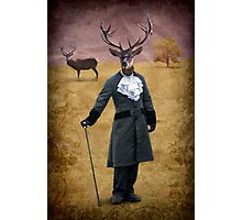 The man who changed himself into a deer Photographic Print