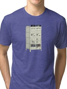 The Alex 9000 Computer c1981 Tri-blend T-Shirt
