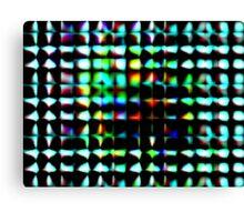THROUGH URBAN GLASS Canvas Print