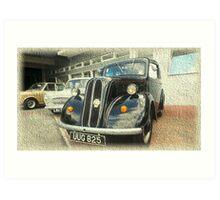 Vintage Ford Car Art Print