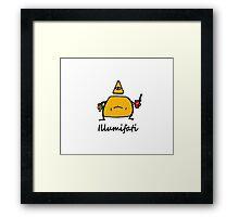 Illumifati Framed Print