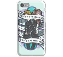 Born to Express Yourself iPhone Case/Skin
