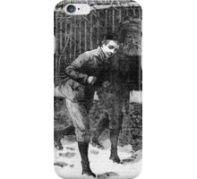 Ghostly Figure. iPhone Case/Skin