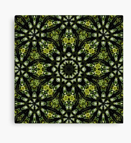The Tangled Green Canvas Print