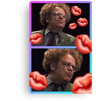 Brule kisses Canvas Print