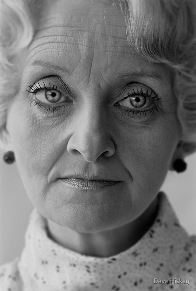 Lady with the Sad Eyes by Dave Hiskey