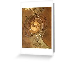 NOUVEAU COLLECTION ~ OPPOSING Greeting Card