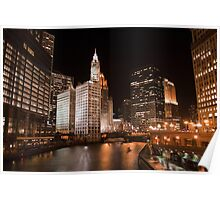 Michigan & Wacker Poster