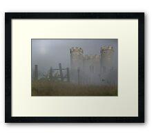 Camelot Mists Framed Print