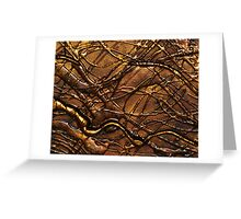 BOTANICAL ABSTRACT NOUVEAU COLLECTION Greeting Card