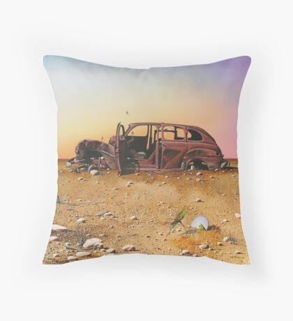 Comfort Stop Throw Pillow