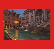 Rome's Fabulous Fountains - Trevi Fountain at Dawn Kids Clothes