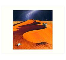 Dune Warriors Art Print