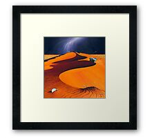 Dune Warriors Framed Print