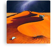 Dune Warriors Canvas Print